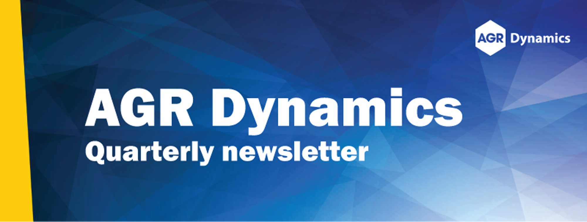 AGR Dynamics Newsletter