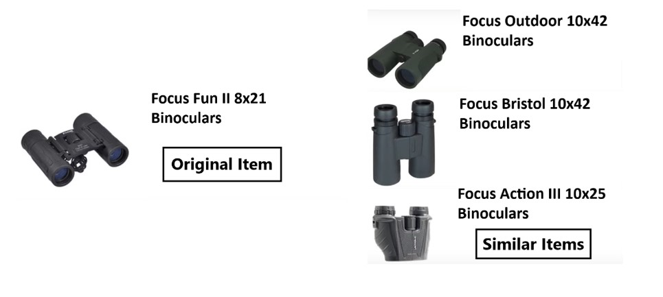 binoculars similar items