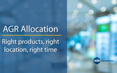AGR Allocation – Right Products, Right Place, Right Time