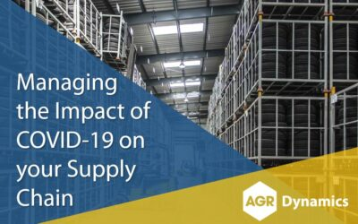 Managing the Impact of COVID-19 on your Supply Chain
