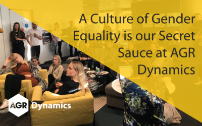 A Culture of Gender Equality is our Secret Sauce at AGR Dynamics