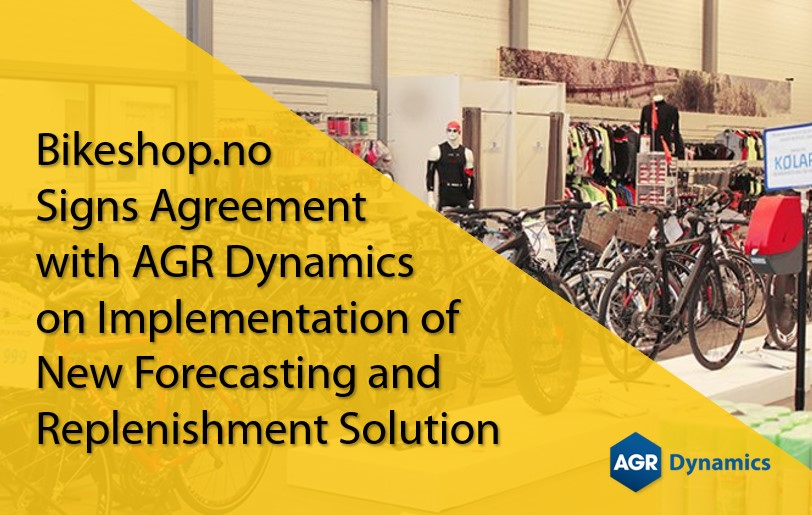 Bikeshop.no Signs Agreement with AGR Nordic on Implementation of New Forecasting and Replenishment Solution