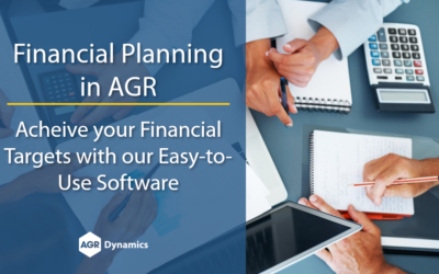 Achieve Your Financial Targets with the AGR Financial Planning Module
