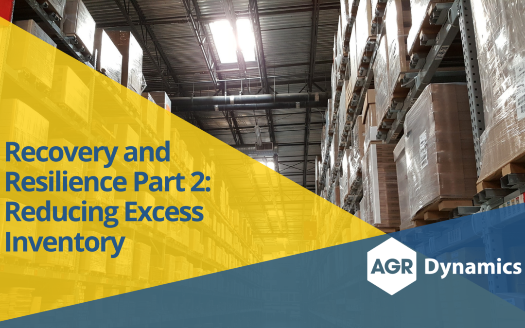 Recovery and Resilience Part 2: Reducing Excess Inventory