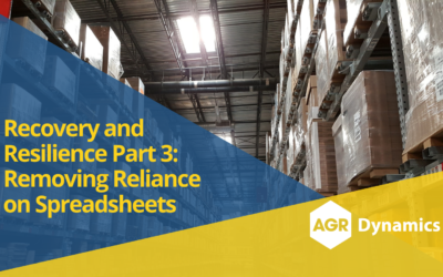Recovery and Resilience Part 3: Removing Reliance on Spreadsheets