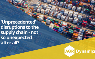 What if 'unprecedented' disruptions to the supply chain weren't so unexpected after all?