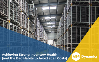 Achieving Strong Inventory Health (and the Bad Habits to Avoid at all Costs)