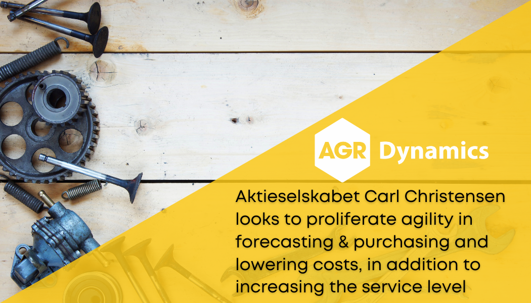 Aktieselskabet Carl Christensen looks to proliferate agility in forecasting & purchasing and lowering costs, in addition to increasing the service level