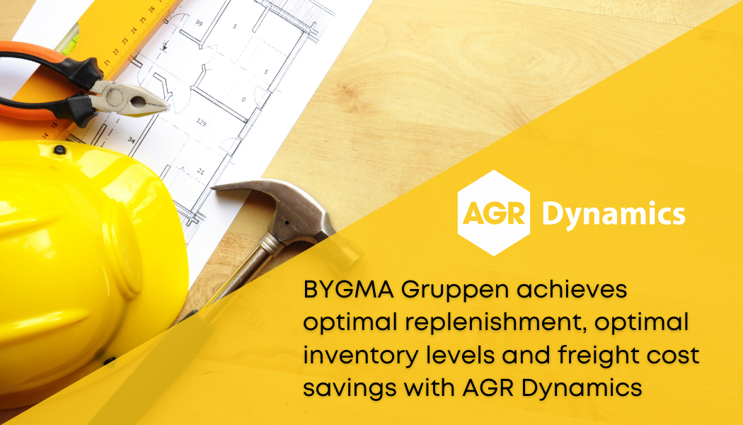 Bygma Gruppen chooses AGR as a supplier of a purchasing tool for their M3 ERP system