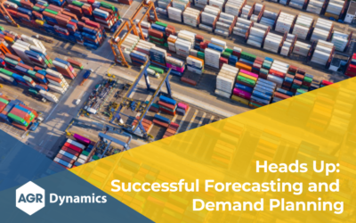Heads Up: Successful Forecasting and Demand Planning