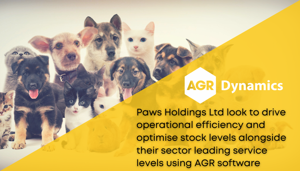 Paws Holdings Ltd announce Inventory Optimisation and Merchandise Planning partnership with AGR Dynamics to support future growth
