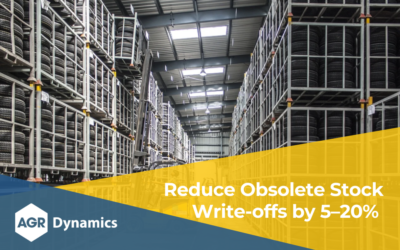 Reduce Obsolete Stock Write-offs by 5–20%