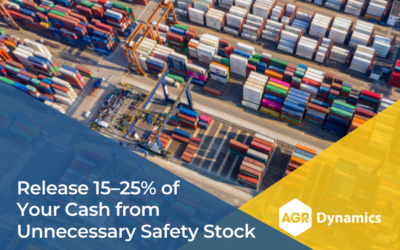 Release 15–25% of Your Cash from Unnecessary Safety Stock