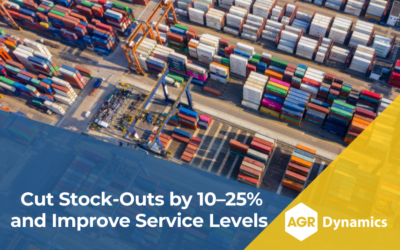 Cut Stock-Outs by 10–25% and Improve Service Levels