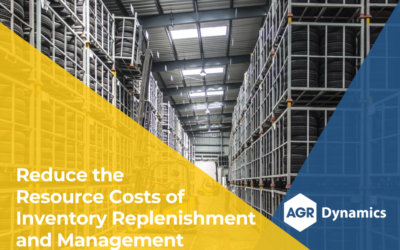 Reduce the Resource Costs of Inventory Replenishment (10–25%) and Inventory Management (33–66%)